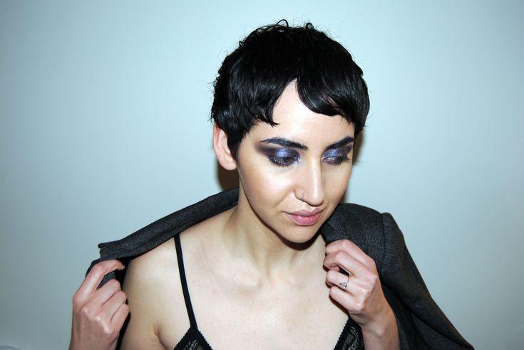 Short hairstyle, pixiecut on Jandi Heart Eco