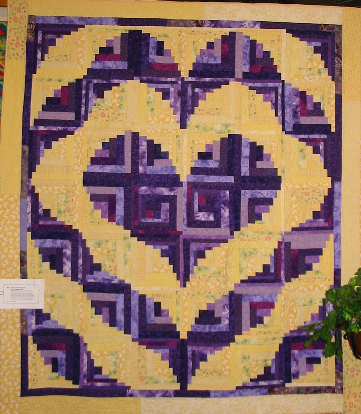 Log Cabin Patterns : Log cabin quilt patterns a collection of ideas to try