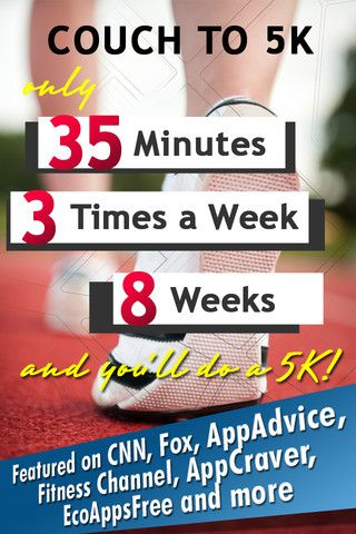 Josh & I are trying this. Couch to 5k app for iPhone. Fingers crossed :) (there's a website for this program too!)