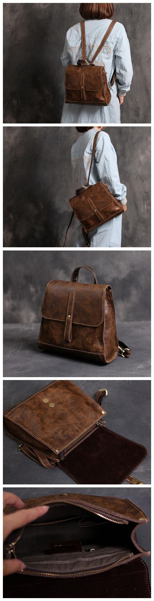 School bag new york - New Arrival Fashion Bag Vintage Backpack College Students School Bag Xl01