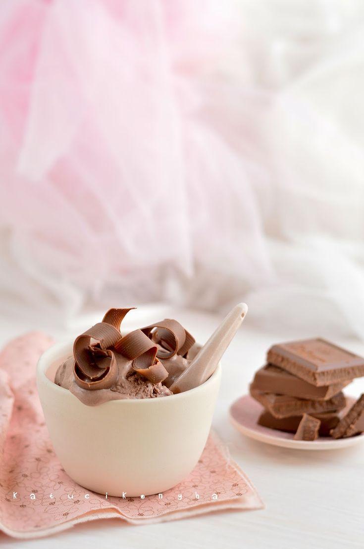 Katucikonyha: Tejszínes csokoládéfagylalt