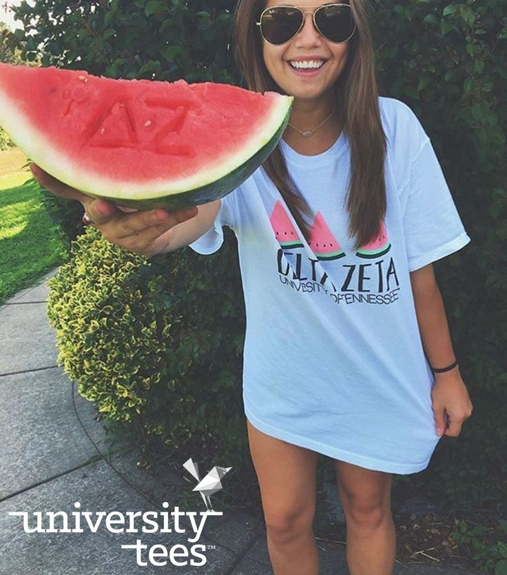 watermelon dreams | Delta Zeta | Made by University Tees | universitytees.com