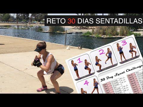 RETO 30 DIAS SENTADILLAS | Naty Arcila | - YouTube