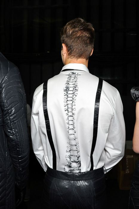Tyler Joseph's spine skeleton shirt......I love it so much.....I want something like this