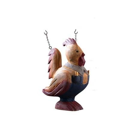 Rooster with Overalls Decorative Hanging Sign  , 13437AKKI | Lang