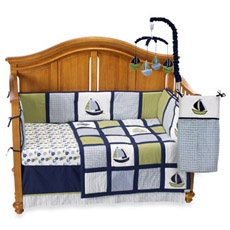 Nautica Kids Zachary 4-Piece Crib Bedding Set ...love this!