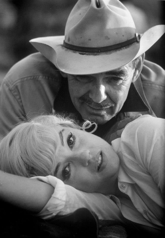 Clark Gable and Marilyn Monroe