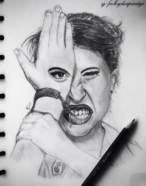 Hayley   #sketch #art #artwork #drawing #hayleywilliams #paramore