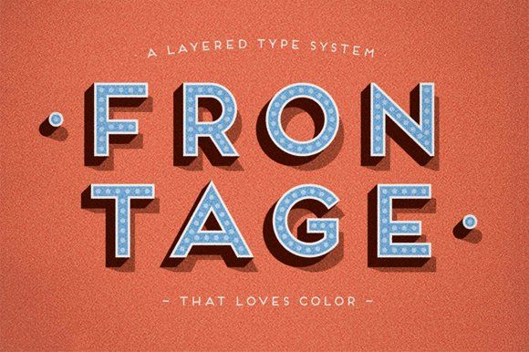Frontage - Complete Family by Juri Zaech on @creativemarket