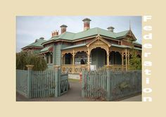 images of Australian federation houses - Google Search