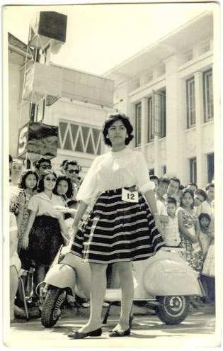 Vespa queen contest 1962 - Fashion Show