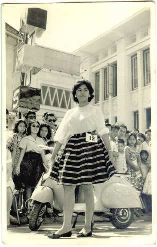 Vespa queen contest 1962 - Fashion Show