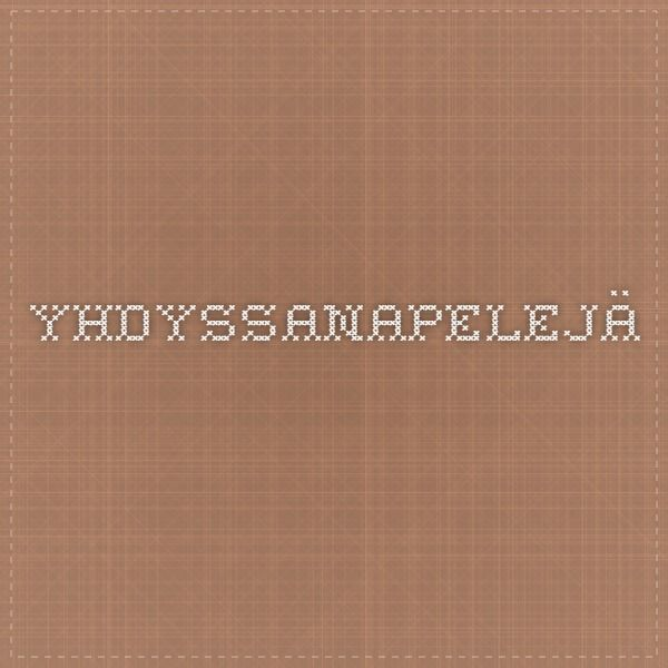 1)yhdyssanapelejä 2) Yhdyssanoja https://fi.pinterest.com/search/boards/?q=Yhdyssanat&rs=typed&0=Yhdyssanat%7Ctyped