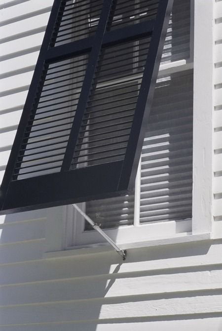 117 Best Images About Exterior Shutters On Pinterest