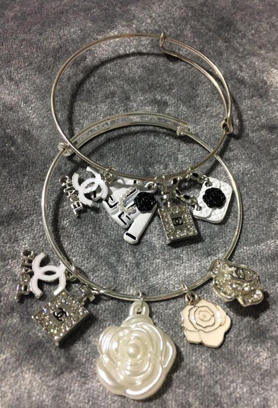 Beautiful Handmade Silver Plated Bracelets With 4 5 Chanel