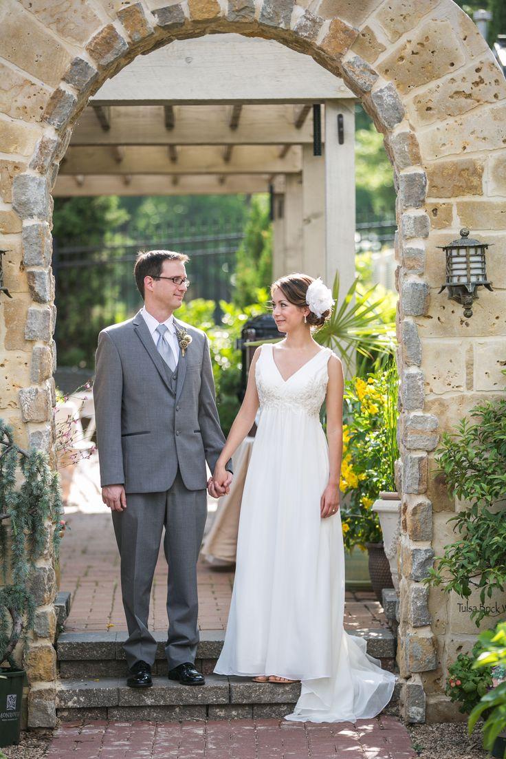 Tulsa Garden Center Wedding Wedding Photographer | The Bride And Groom |  Pinterest | Oklahoma Wedding And Tulsa Oklahoma
