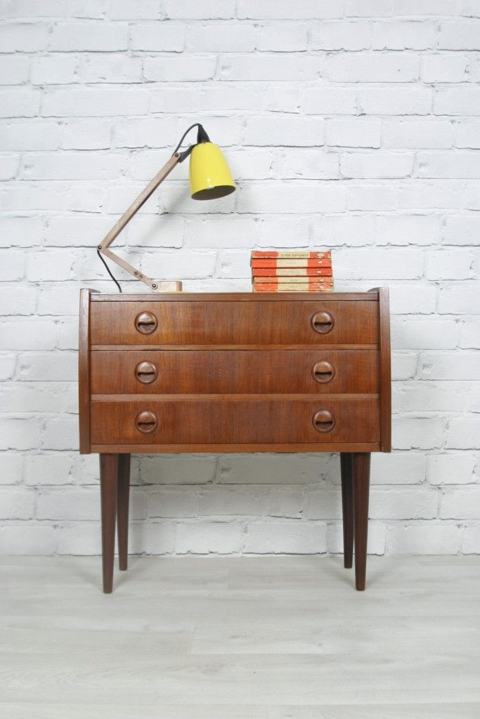 Vinatge 1960s Danish small chest of Drawers/Cabinet. http://www.ebay.co.uk/itm/RETRO-VINTAGE-DANISH-TEAK-MIDCENTURY-CHEST-DRAWERS-CABINET-BEDSIDE-TABLE-50s-60s-/330685404393?pt=UK_Home_Garden_LivingRoomFurniture_EH=item4cfe62d4e9 https://www.facebook.com/mustardvintage