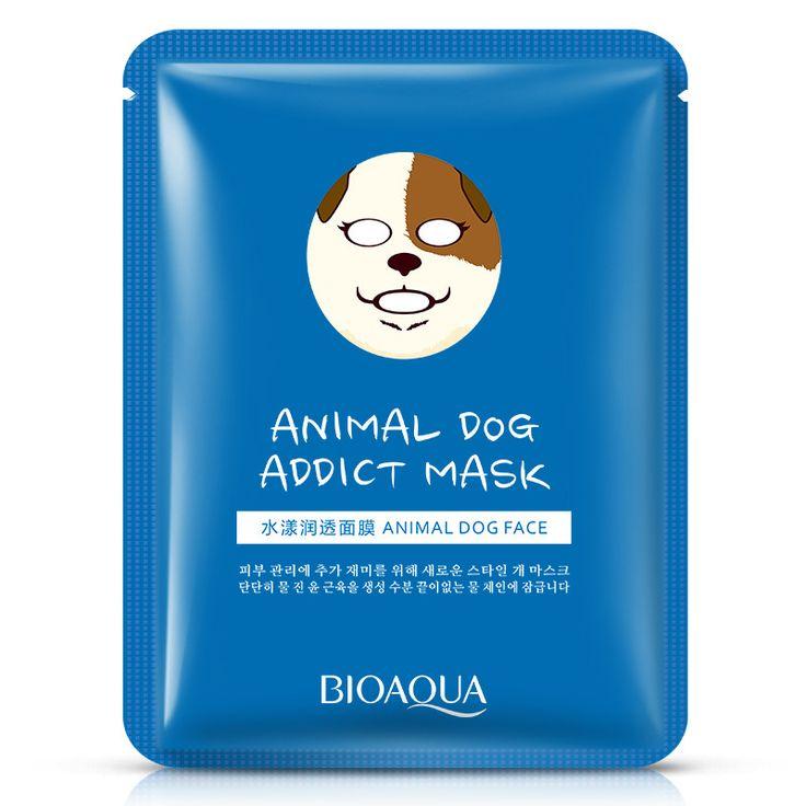Goedkope kawaii hond dier gezichtsmasker hydraterende samentrekkend poriën fabrikanten verkopen cosmetische huidverzorging gezichtsverzorging, koop Kwaliteit behandelingen en maskers rechtstreeks van Leveranciers van China: