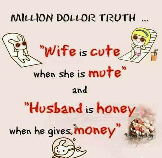 Urdu Latifay: Husband Wife Funny Jokes with Cartoon 2014