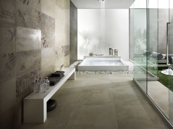 Carrelage millelegni emilceramica tanguy mat riaux sols for Tau ceramica meuble salle de bain