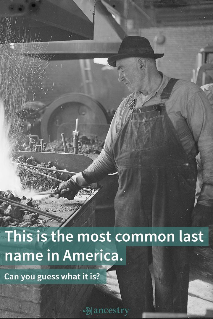 What's the Most Common Last Name in the United States?
