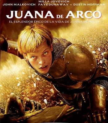Juana de Arco / Dir. Luc Besson. intèrprets: Milla Jovovich, John Malkovich, Faye Dunaway.