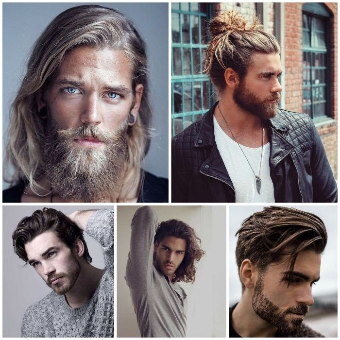 Frisuren Lange Haare Manner Mit Bart Und Langen Haaren Mannerfrisuren 2018 Langhaarfrisuren Lange Haare Manner Langhaarfrisuren Manner