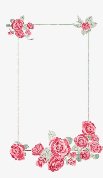 Creative Floral Border Elegant Atmosphere, Elegant ...