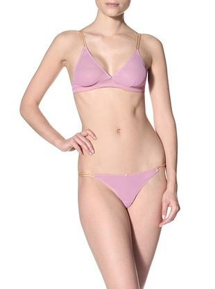 64% OFF Clo Intimo Women's Malla String Thong (Orchid)