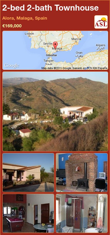 2-bed 2-bath Townhouse in Alora, Malaga, Spain ►€169,000 #PropertyForSaleInSpain