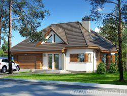 Projekt Reksio wchodzący w skład oferty na projekty domów http://www.dominanta.pl .