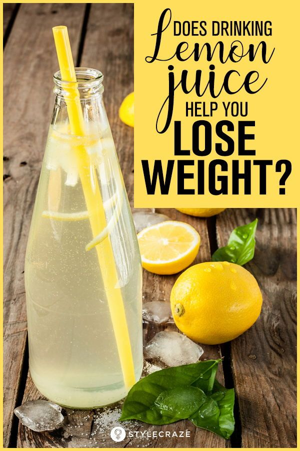 Can lemon help in weight loss