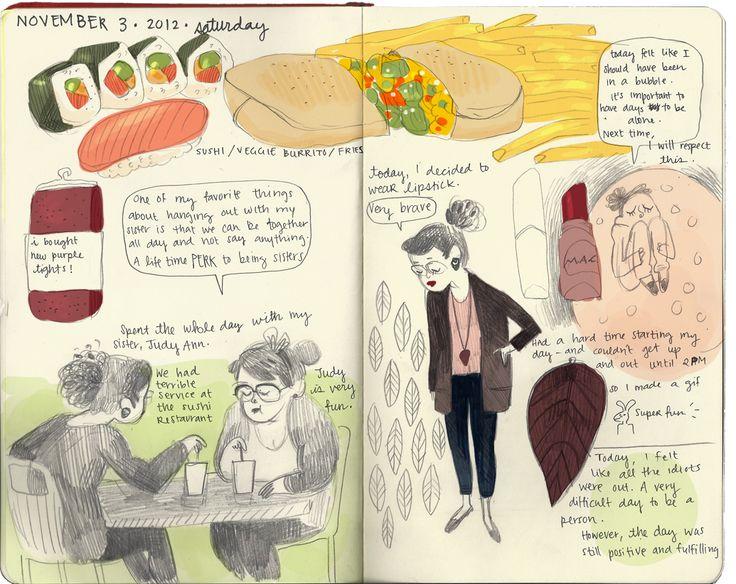 november 3, 2012: saturday by tiffany ford