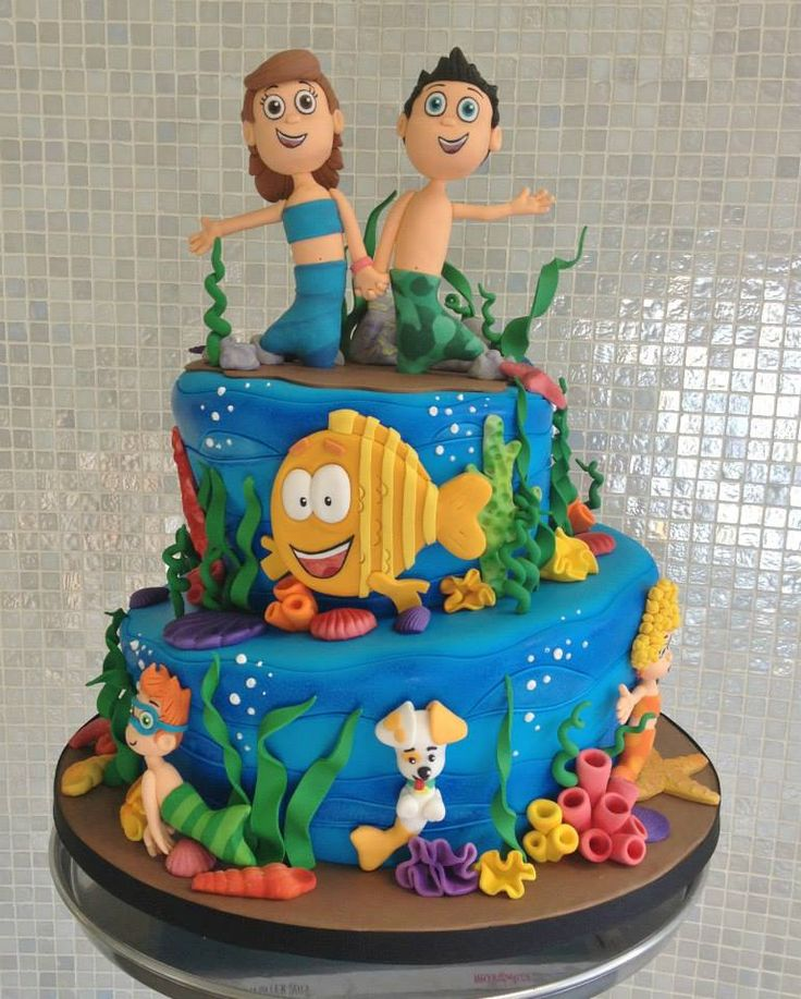 Bubble Guppies Cake by Over The Top Cakes