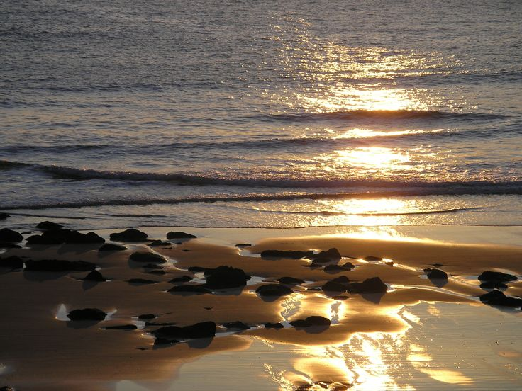 Amanecer #playa #sablon #llanes #asturias #spain #peregrinos #caminosantiago