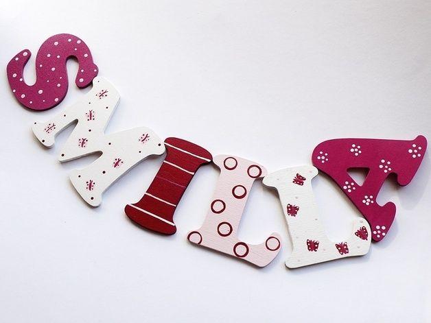 ber ideen zu holzbuchstaben kinderzimmer auf pinterest holzbuchstaben deko babynamen. Black Bedroom Furniture Sets. Home Design Ideas