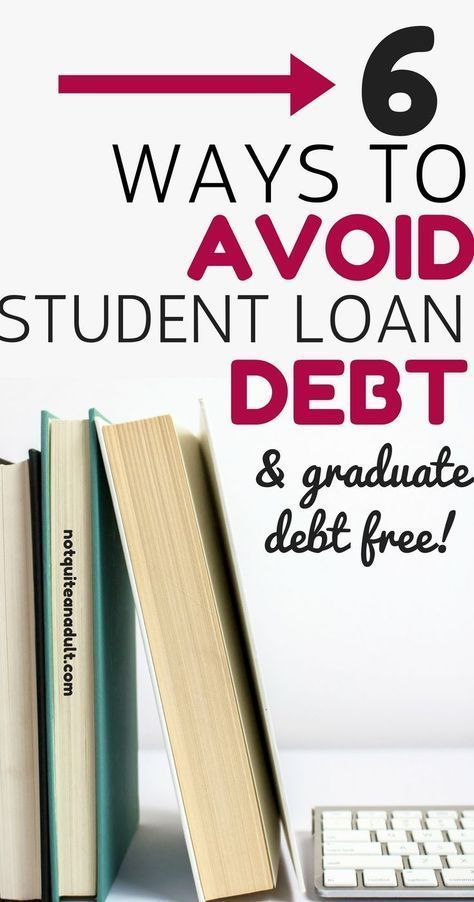 Graduate Debt Free ~ Is it even possible Student Loan Debt can be soul crushing and budget killing, the best way to deal with student loan debt is to not accrue it in the first place