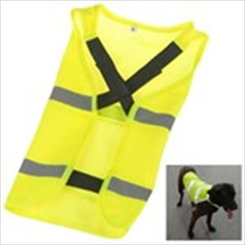 Lightweight Reflective Dog Pet Safety Vest Shirt Dress with Velcro Closure - Small Size