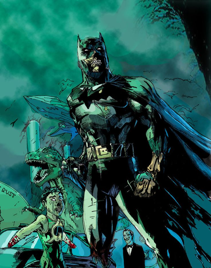 Zombie Batman Comic Zombie Batman | Comic ...