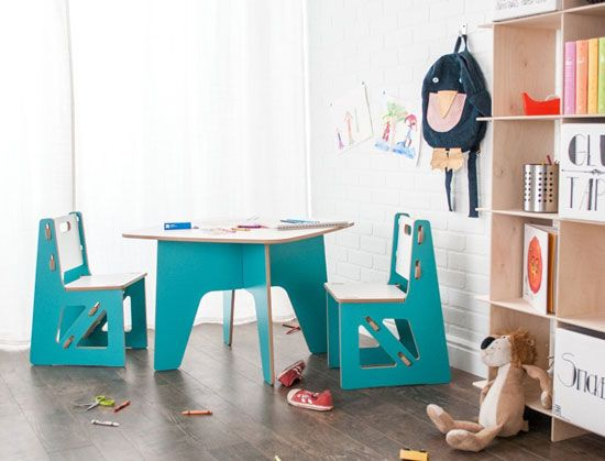 Table And Chair Set / Playful Furniture For Kids: 19 Exciting Pieces Http:/