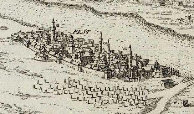 Pest in the Turkish era (16-17th century)