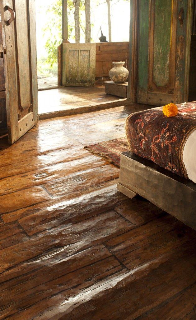 Bambu Indah - Jawa Lama House floor detail - Djuna Ivereigh