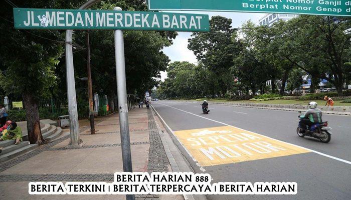 Jakarta Menunjuk Jalur Bagi Sepeda Motor