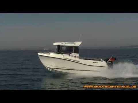 Quicksilver Captur 555 Pilothouse + Mercury F 100 ELPT EFI -Bootscenter Kiel- - YouTube