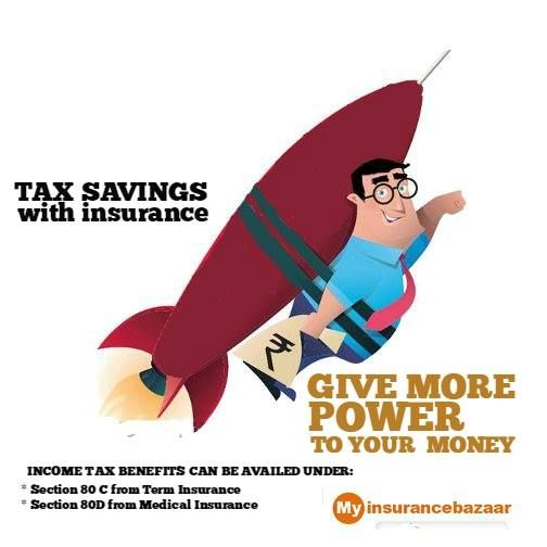 Give More Boost To Your Money-Enjoy tax benefits on your insurance premium.Compare and buy the right insurance