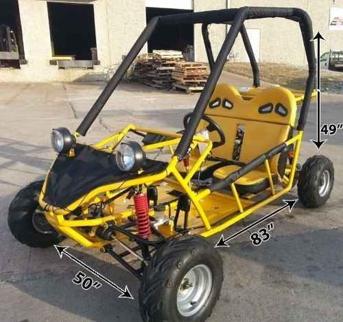 New 2016 Gsi 125cc Hammer Go Kart Great for Adults & Juniors Fully ATVs For Sale in Illinois.