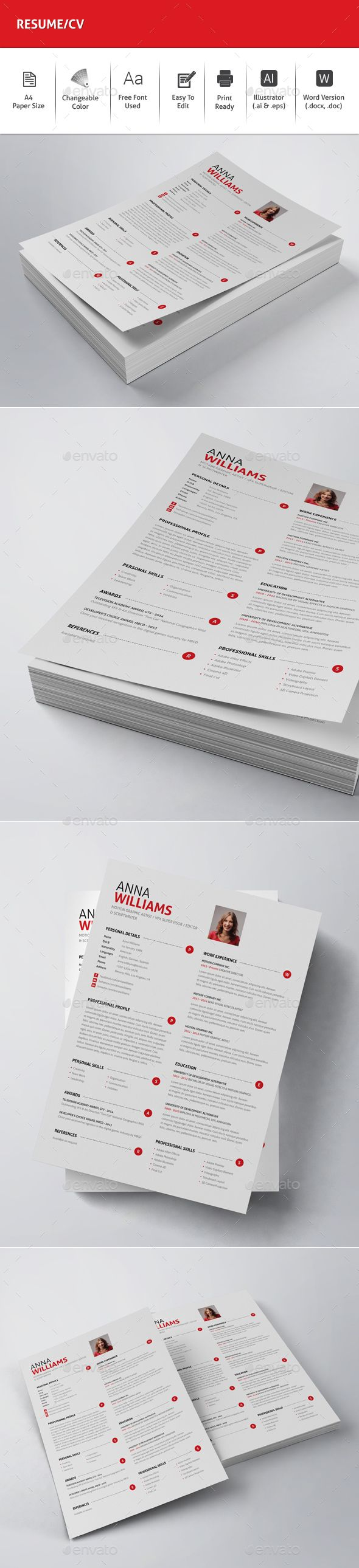 ResumeCV 102 best 06 RESUME images on Pinterest