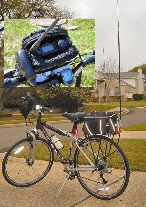 Bug Out Bikes Communications On The Go. Ham / CB / Short Wave Radio.