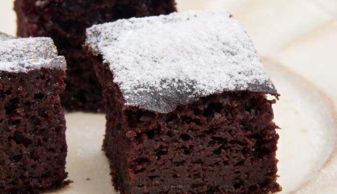 Šťavnatý kakaový koláček s kefírem