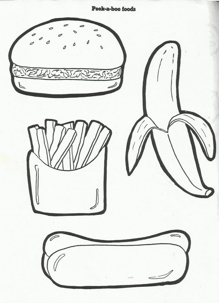 Картинки раскраски с полезными продуктами